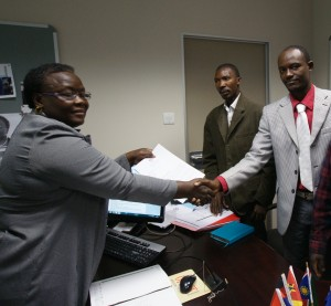SADC Receiving the Petition