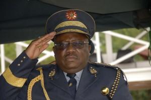 Namibian Police Inspector General, Sabastian Ndeitunga