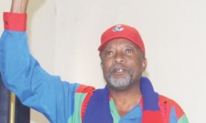 Secretary General of the party, Nangolo Mbumba